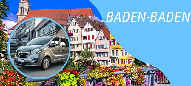 Transport Persoane catre Baden-Baden